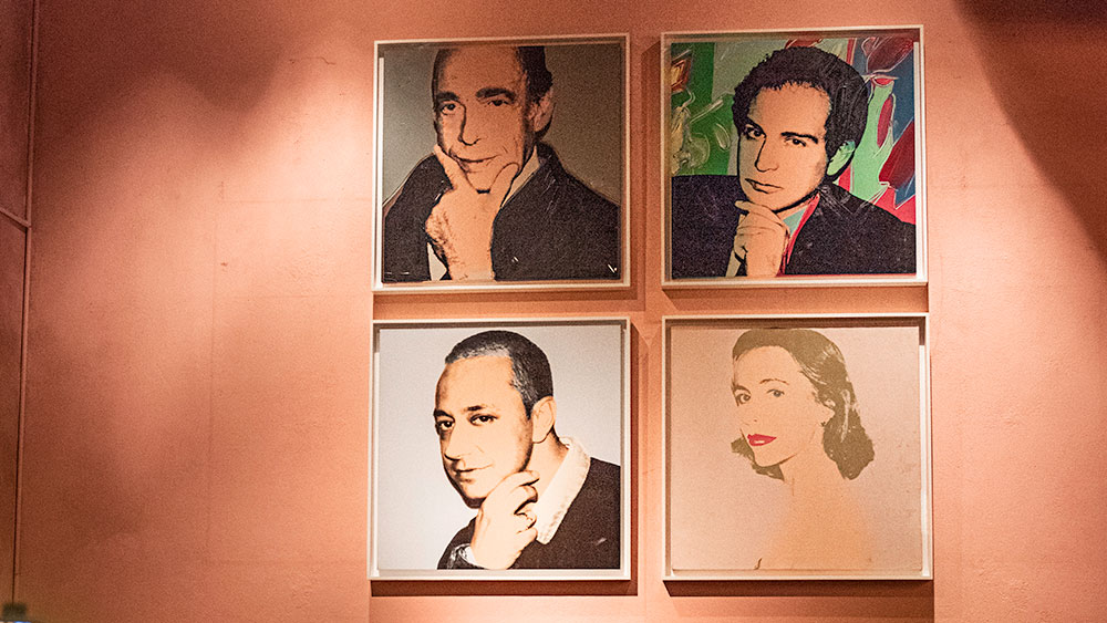 Andy Warhol at the Gramercy Park Hotel