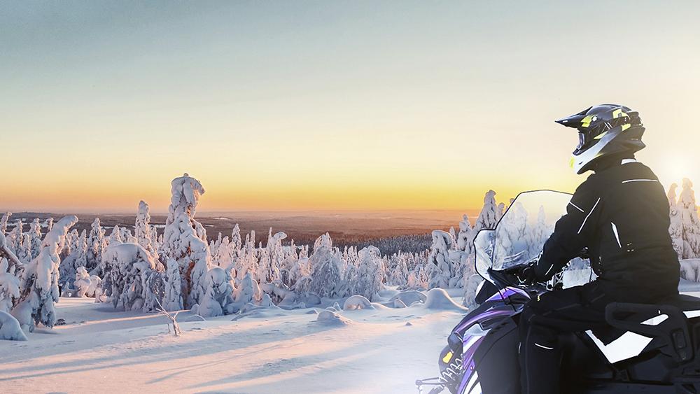 Aurora Electric Snowmobile