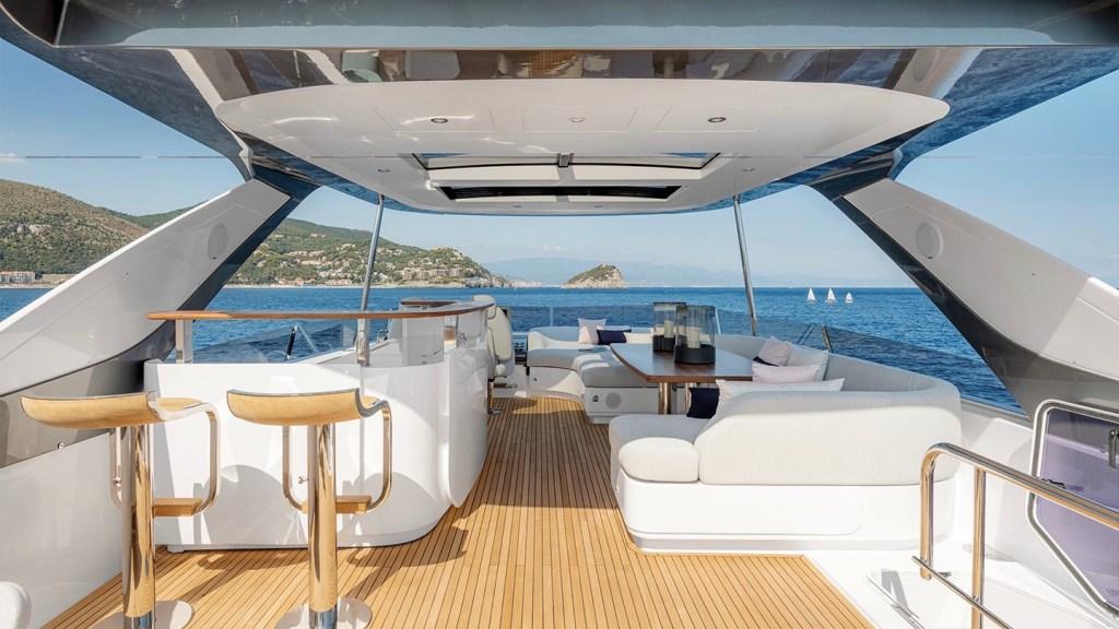 Italian shipyard Azimut Yachts 78 Flybridge