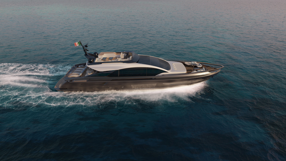 Italian shipyacrd Azimut Benetti Azimut Grande S10 Cannes Yachting Festival