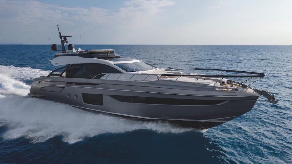 Italian shipyard Azimut Yachts S8 Cannes Yachting Festival
