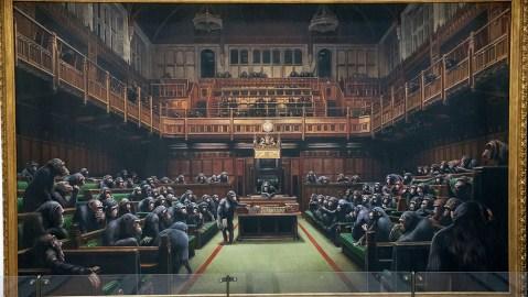 Banksy's Devolved Parliament