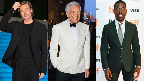 Brad Pitt, Ralph Lauren and Sterling K. Brown are the stylish guys on our list of the best-dressed men of the week.