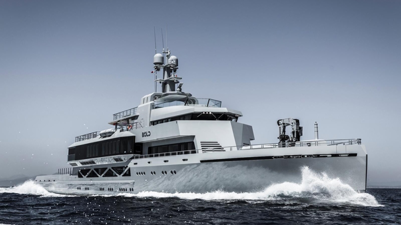 SilverYachts, Bold: 279-foot motor yacht
