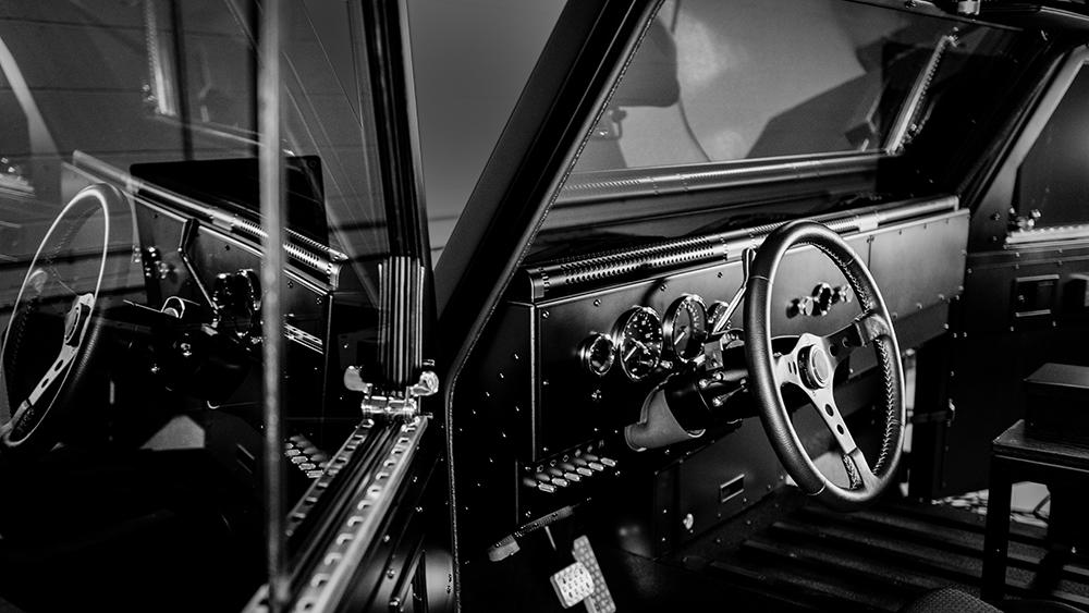 Bollinger B1 Interior Dash