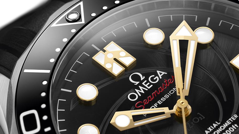 The Omega Seamaster Diver 300M James Bond