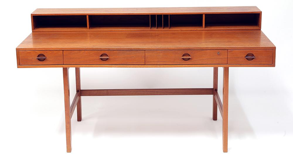 Anthony Bourdain's Peter Lovig Nielsen writing desk