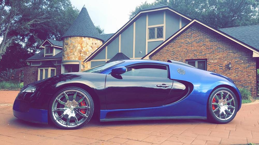 Bugatti Veyron x Mercury Cougar