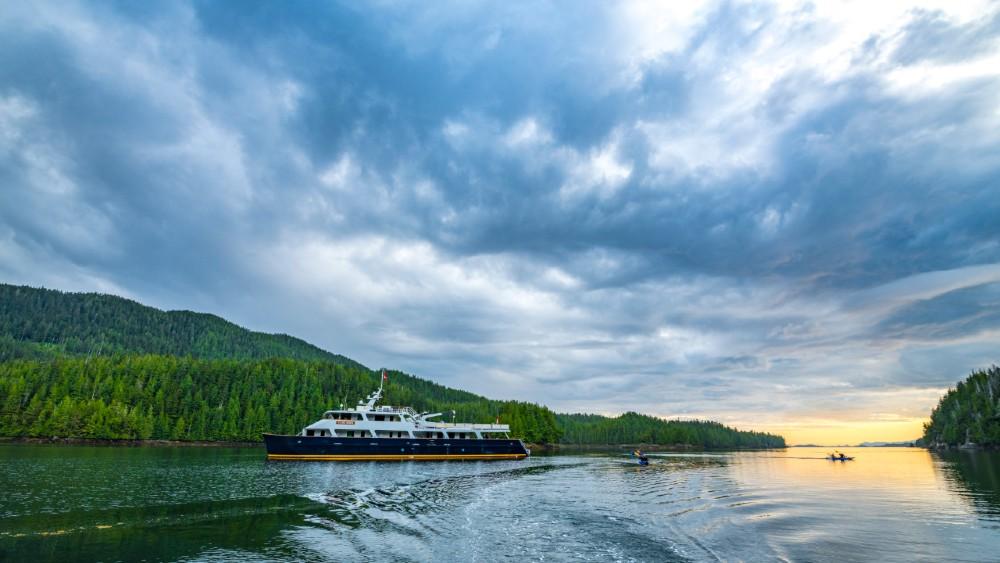 Maple Leaf Adventures Cascadia catamaran