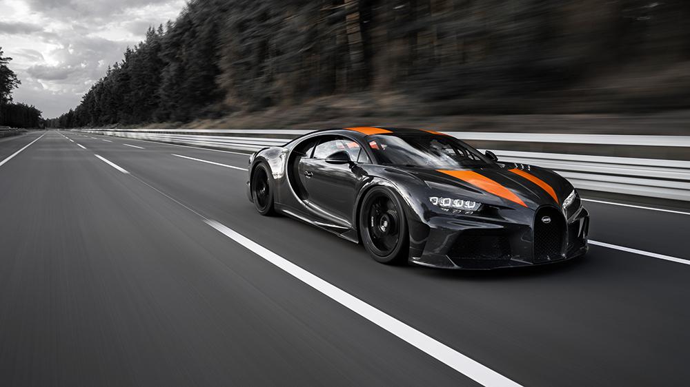 Bugatti's record-setting Chiron