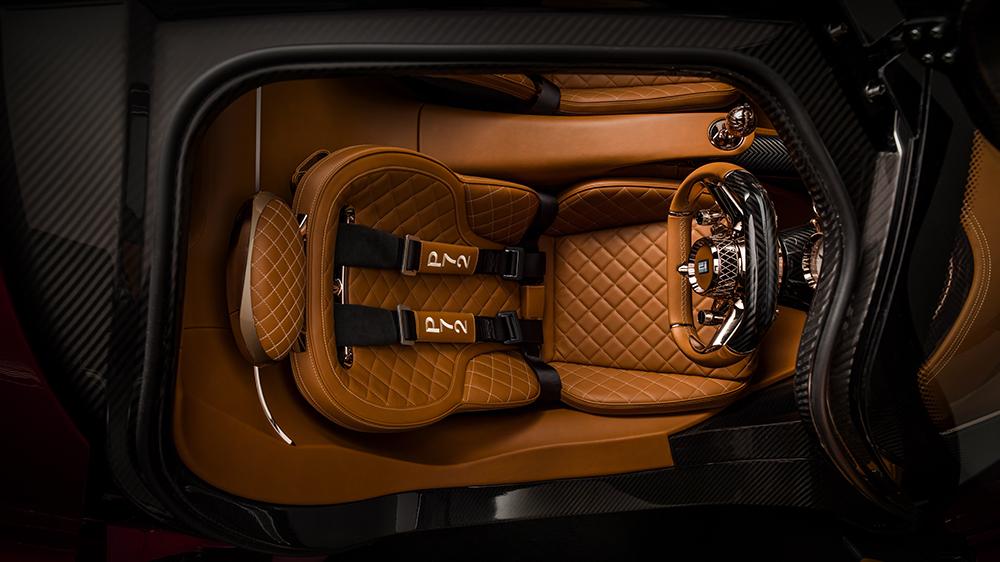 De Tomaso P72 Interior Seat