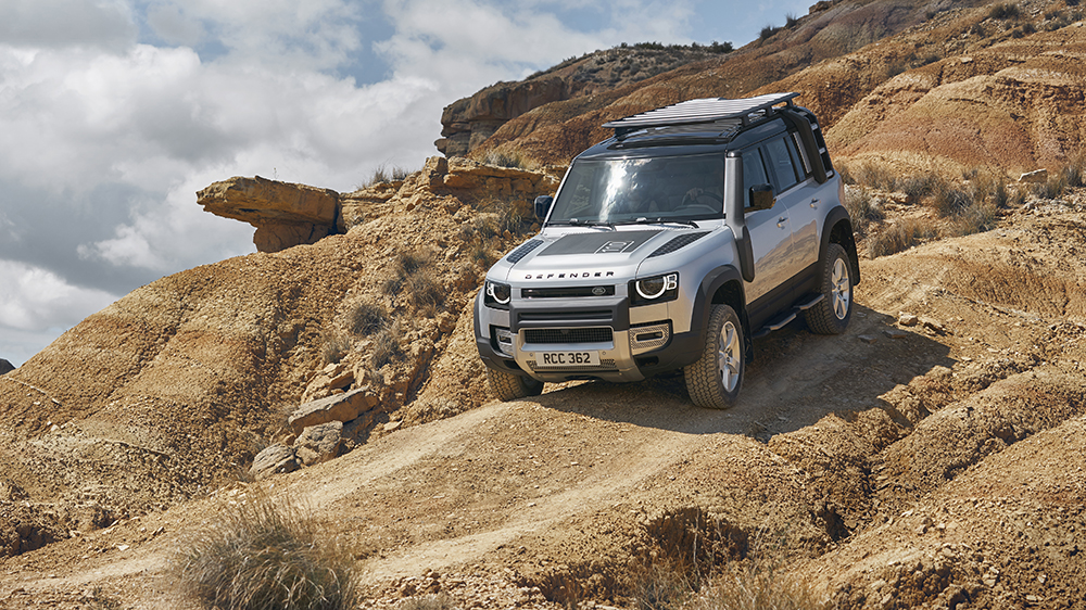 The Land Rover Defender 110