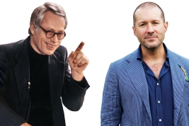 Dieter Rams and Jony Ive