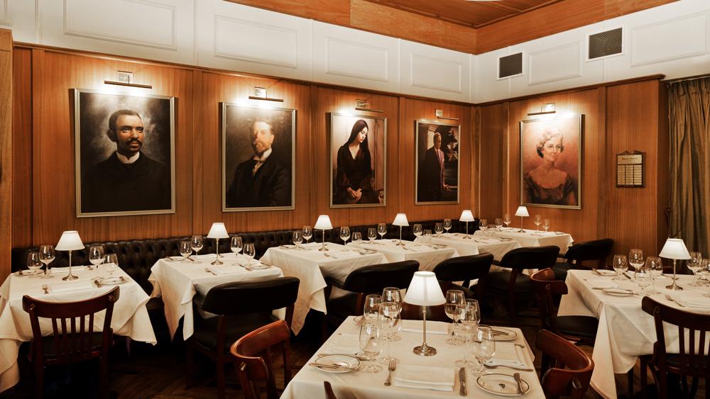 Mason dining room