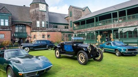 The Newport Concours & Motor Week.