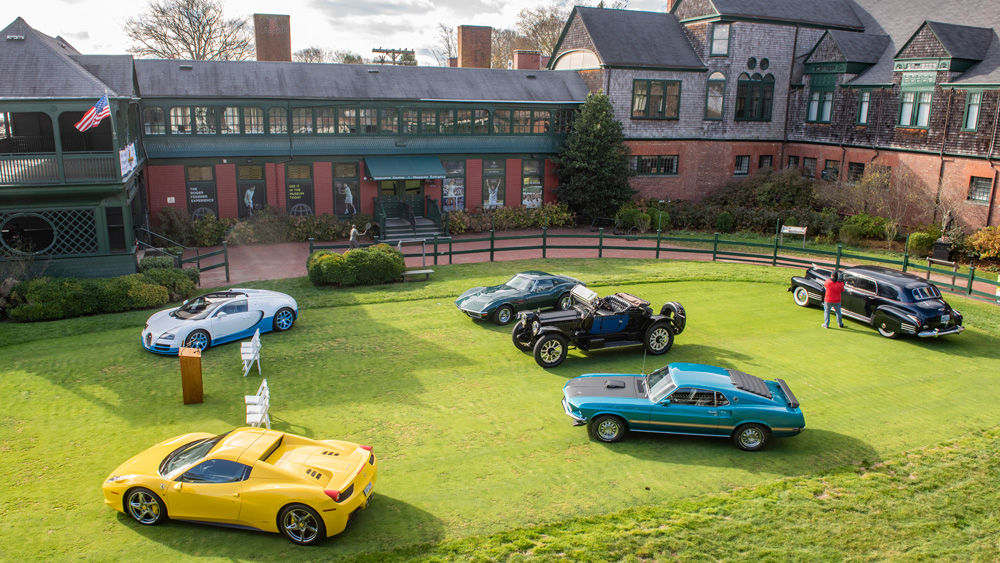 The Newport Concours & Motor Week.