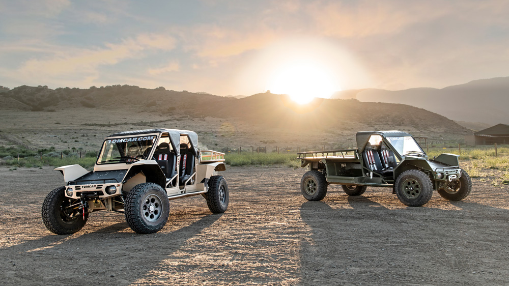 The 2020 Tomcar TX.