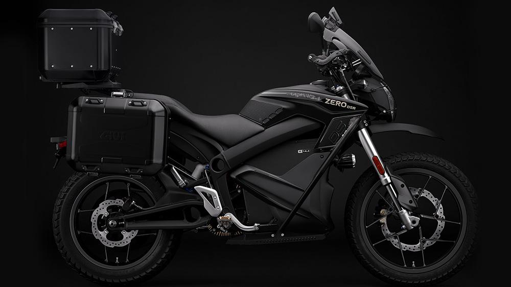 Zero Motorcyles's DSR Black Forest Edition