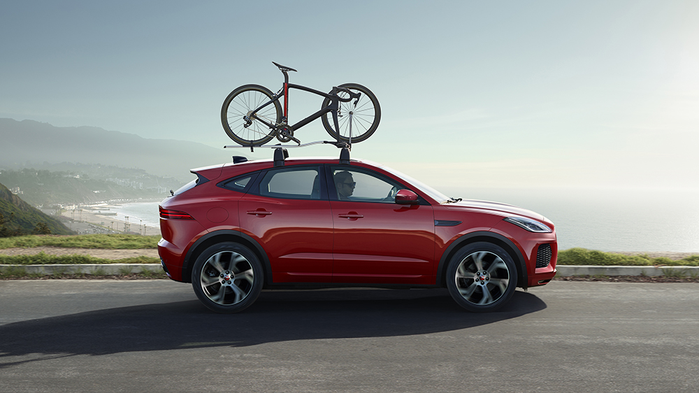 The Jaguar E-Pace Checkered Flag Limited Edition
