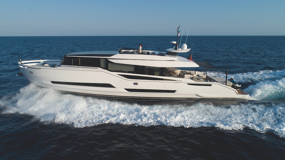 Italian shipyard Palumbo Shipyard Extra 86 Fast yacht Cannes Yachting Festival