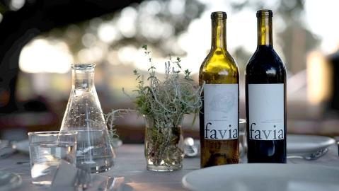 Favia Winery in Coombsville