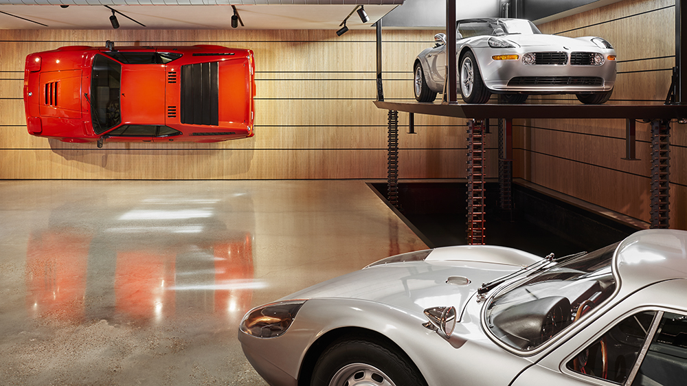 Ferris Bueller-inspired garage in Austin