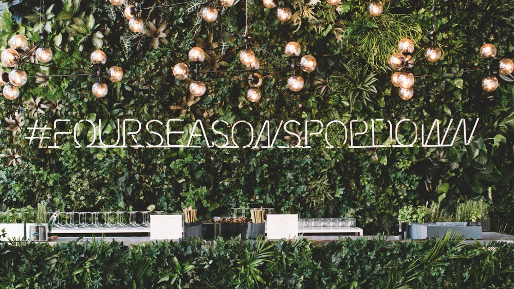 Four Seasons Pop Down Event
