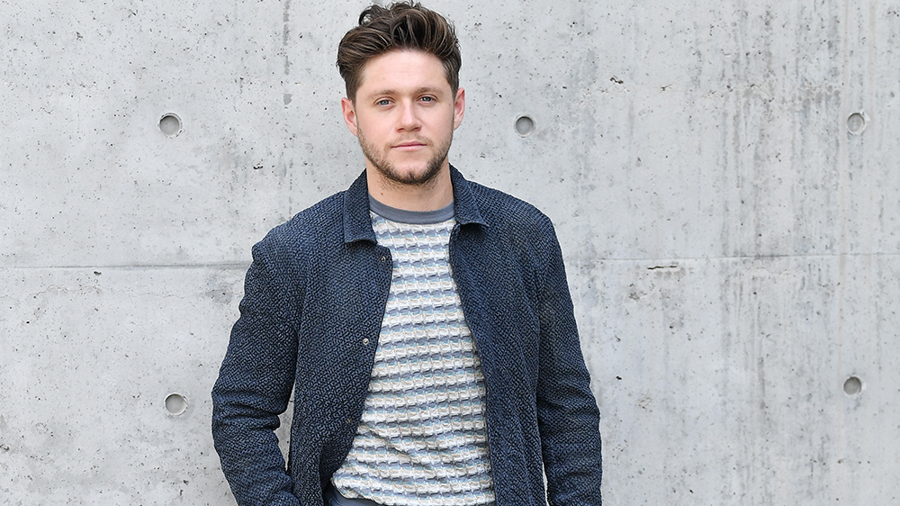 MILAN, ITALY - JUNE 15: Niall Horan attends the Emporio Armani fashion show during the Milan Men's Fashion Week Spring/Summer 2020 on June 15, 2019 in Milan, Italy. (Photo by Jacopo Raule/Getty Images)