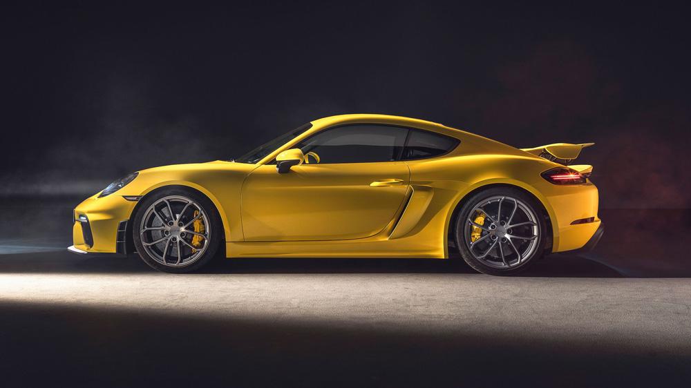 The New Porsche 718 Cayman GT4.