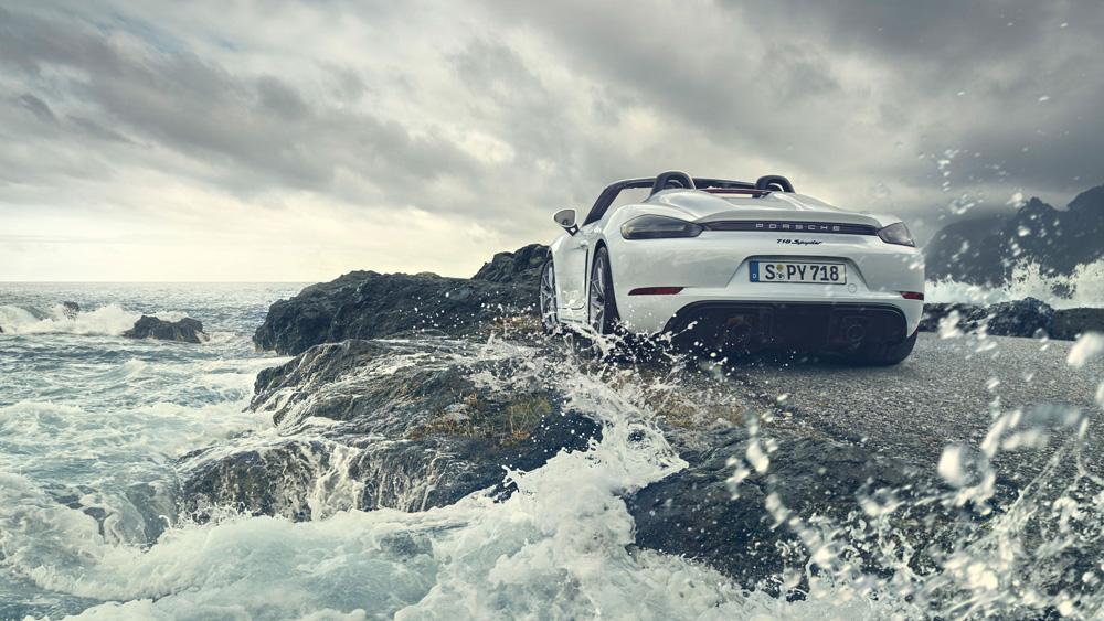 The New Porsche 718 Spyder.