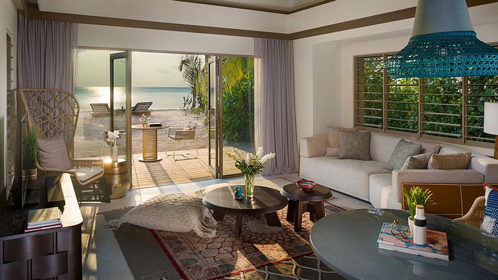 InterContinental Maldives beach villa