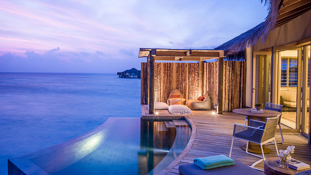 InterContinental Maldives overwater pool villa
