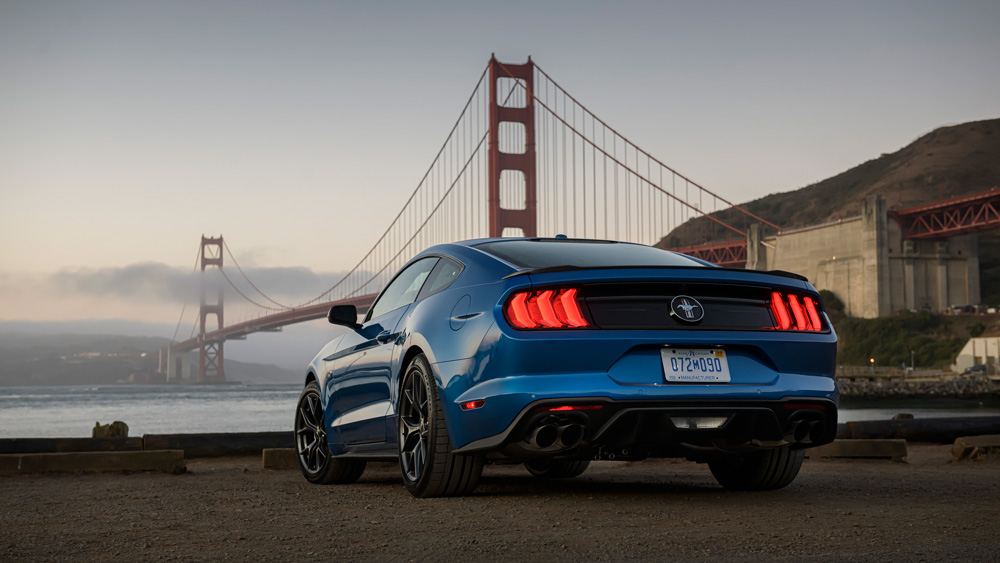 The 2020 Ford Mustang 2.3L High Performance Package.
