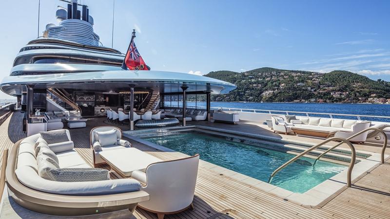 Oceanco, Jubilee: 360-foot motor yacht