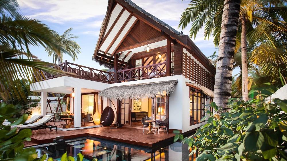 Jumeirah Vittaveli two-bedroom suite
