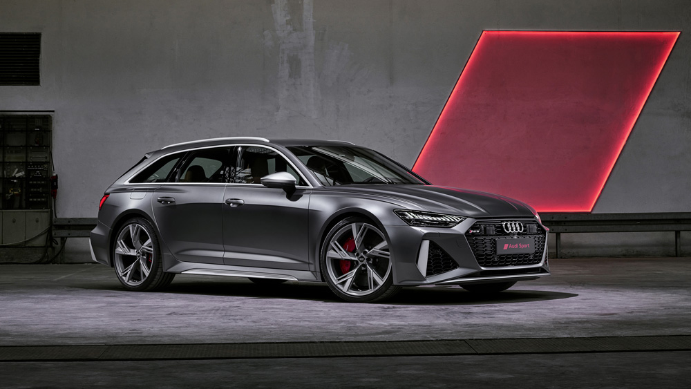 The Audi RS6 Avant.
