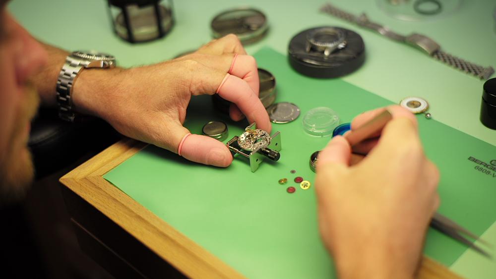 Luxury Watch Repairs