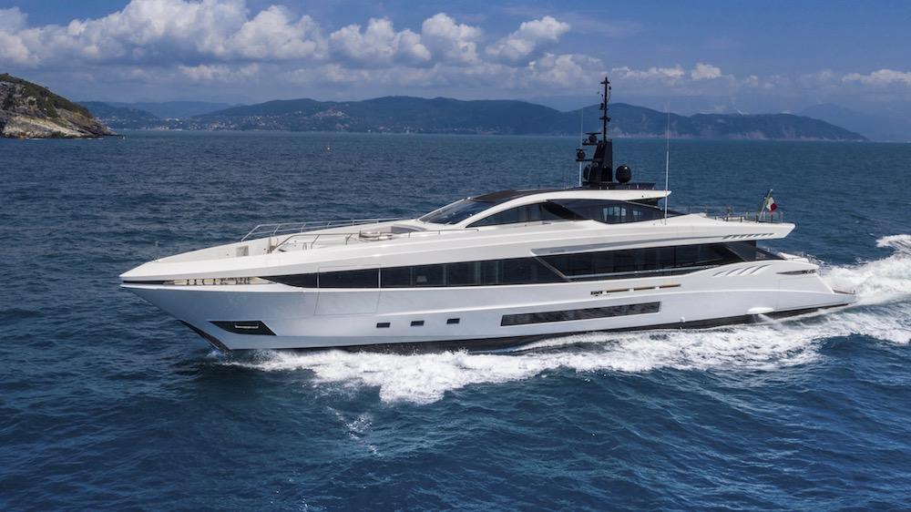 Italian shipyard Mangusta Gransport yacht