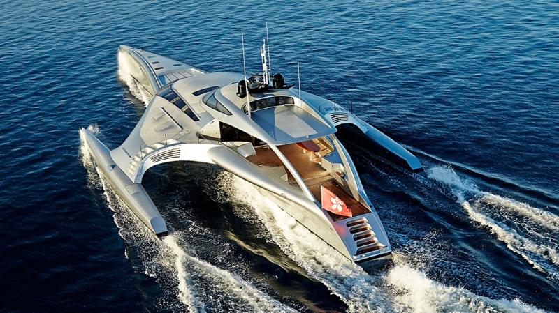 McConaghy Boats, Adastra: 140-foot trimaran