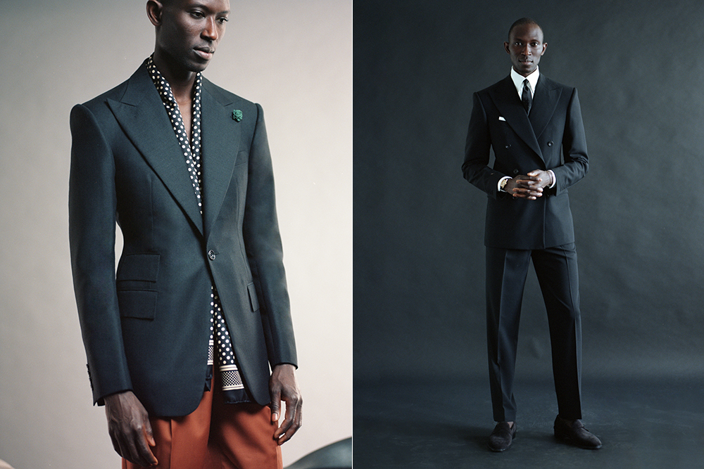 Bespoke tailor Michael Browne makes some of London's bests suits.