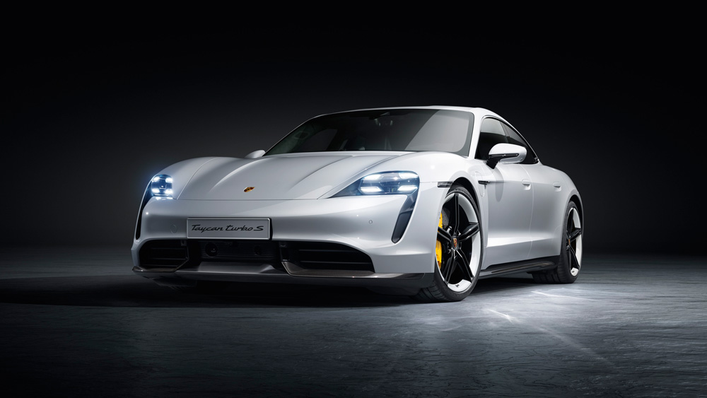 The Debut of the Porsche Taycan.