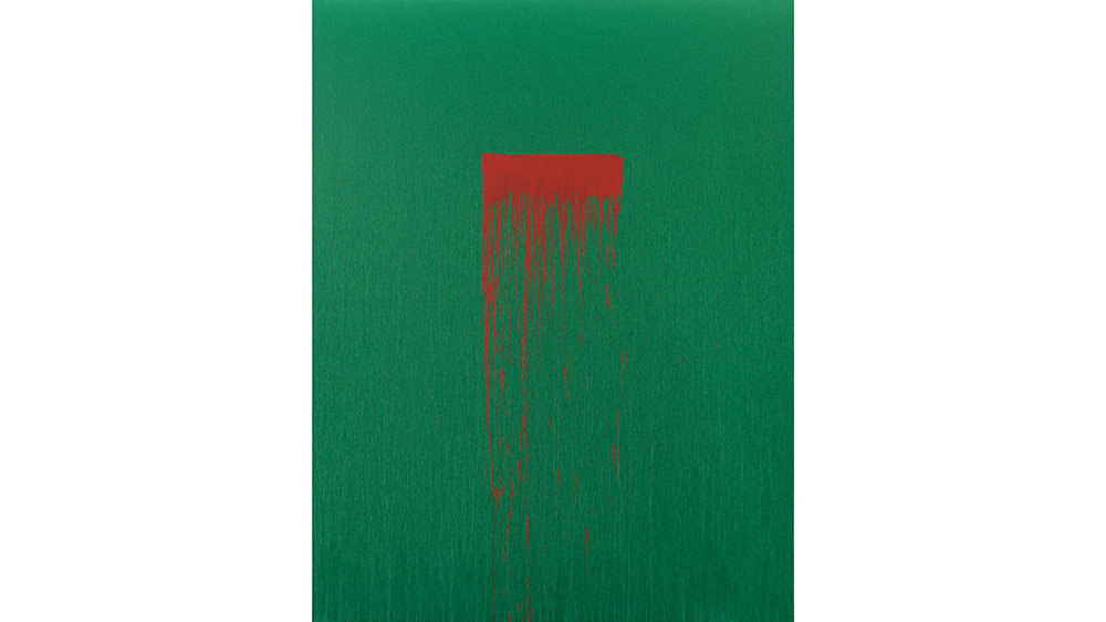 Pat Steir: Color Wheel, Hirshhorn Museum and Sculpture Garden, 2019