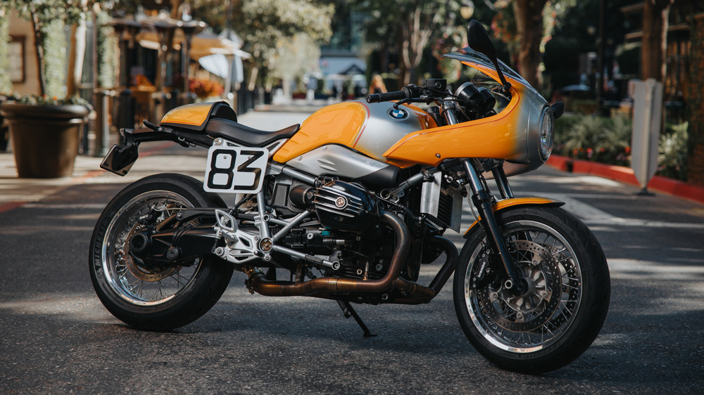 San Jose BMW's Tribute Bike.