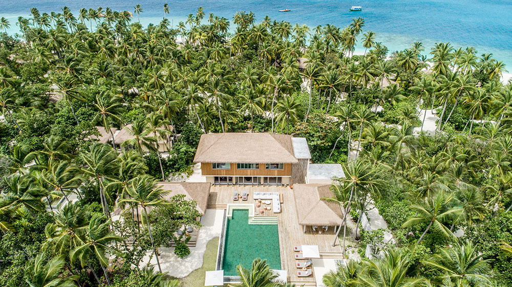 Royal beachfront residence