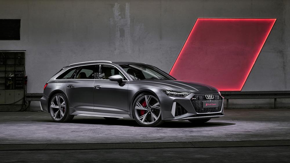 The 2020 Audi RS 6 Avant.
