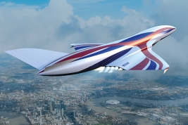 SABRE hypersonic space plane