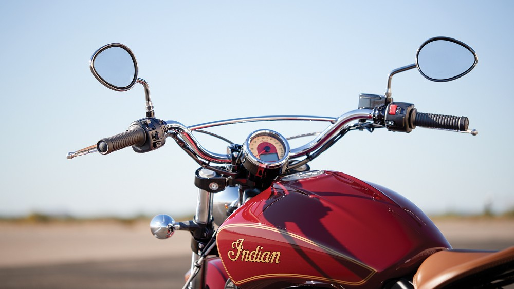Indian Motorcycle's 100th Anniversary Scout