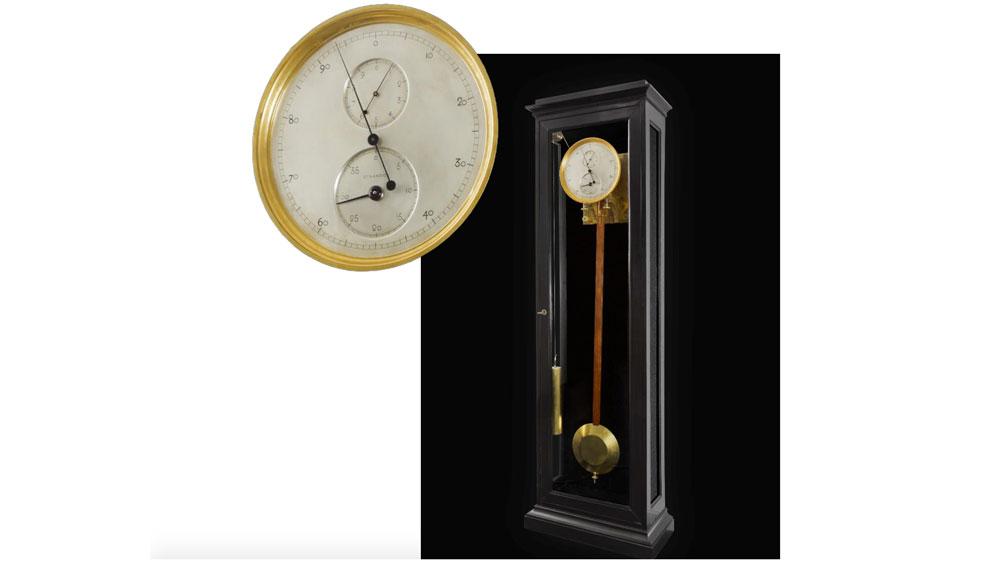 Gustave Sandoz Pendulum Clock