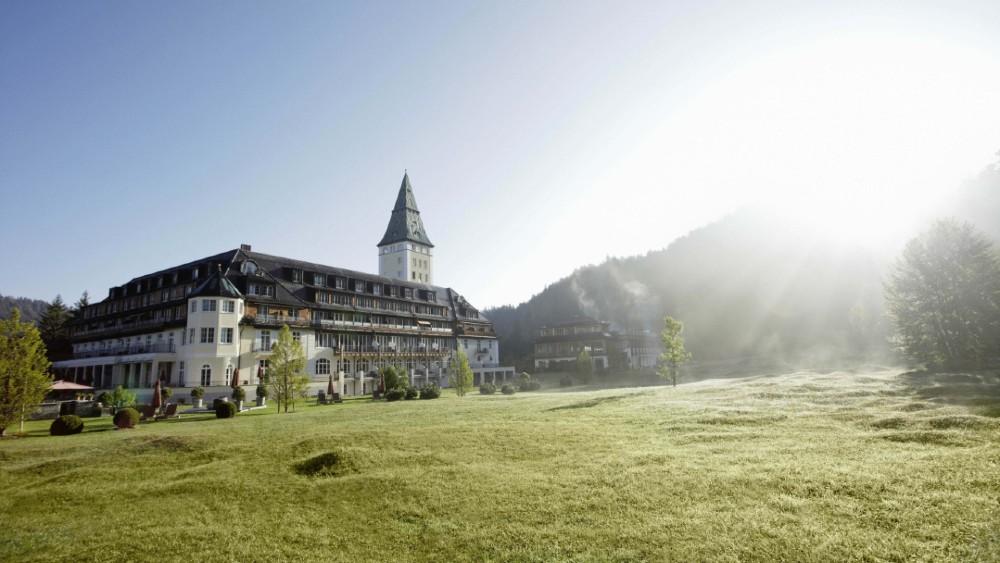 Schloss Elmau hotel exterior