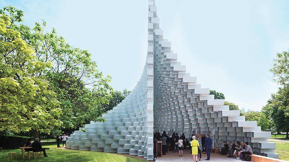 Serpentine Gallery pavilion in London